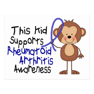 This Kid Supports Rheumatoid Arthritis Awareness Postcard