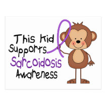This Kid Supports Sarcoidosis Awareness Postcard