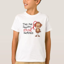 This Kid Supports Stroke Awareness T-Shirt