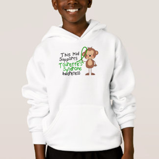 This Kid Supports Tourettes Syndrome Awareness Hoodie