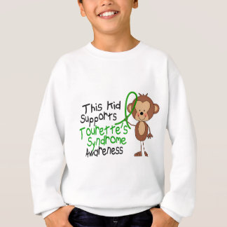 This Kid Supports Tourettes Syndrome Awareness Sweatshirt