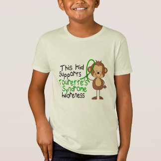 This Kid Supports Tourettes Syndrome Awareness T-Shirt