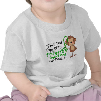 This Kid Supports Tourettes Syndrome Awareness Tees
