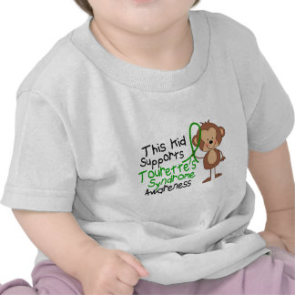 This Kid Supports Tourettes Syndrome Awareness Tshirt