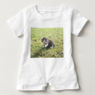 This Kitten fights for Freedom Baby Romper