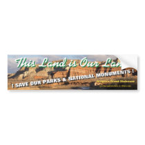 THIS LAND IS OUR LAND! UTAH's Grand Staircase - Bumper Sticker