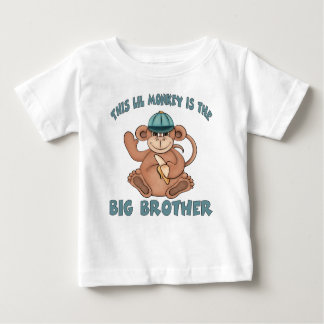 This lil monkey is the big brother baby T-Shirt