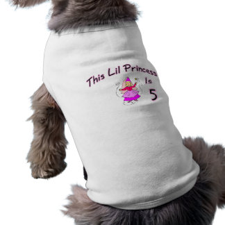 This Lil Princess Is 5 Pet Tee
