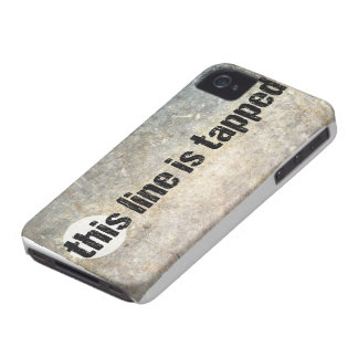 this line is tapped 4th amendment Case-Mate iPhone 4 case