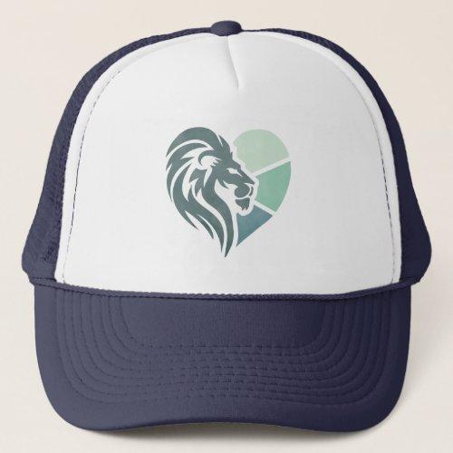 This Lionheart Trucker Hat