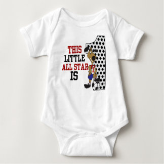This Little ALL STAR is 1 BIRTHDAY Tee