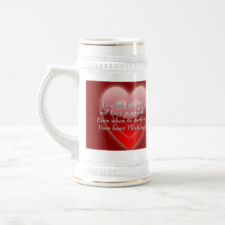 This Little Heart Of Mine! (multiple products) Beer Stein