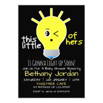 This Little Light Of Hers Baby Shower Invitation