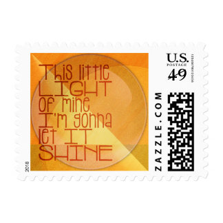 This Little Light of Mine Bible Song Postage