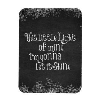 This Little Light of Mine Gonna Let it Shine Rectangular Photo Magnet