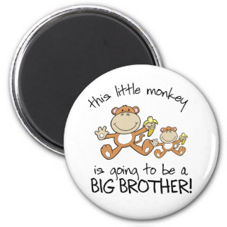 this little monkey big brother magnet