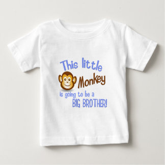 This Little Monkey is going to be a BIG BROTHER! T-shirts