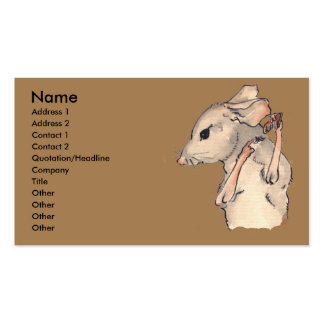 This Little Mouse Double-Sided Standard Business Cards (Pack Of 100)
