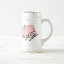 This Little Pig Stayed Home Beer Stein