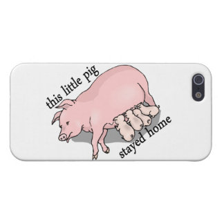 This Little Pig Stayed Home iPhone SE/5/5s Case
