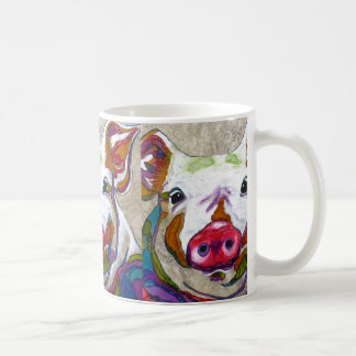 This little piggie coffee mug