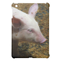 This Little Piggy - Baby Piglet Photo Case For The iPad Mini