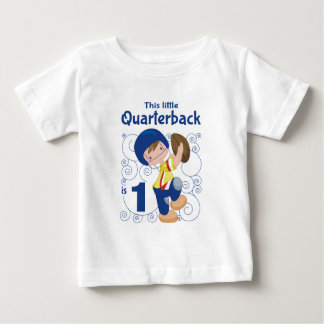 This Little Quarterback is 1 Baby T-Shirt