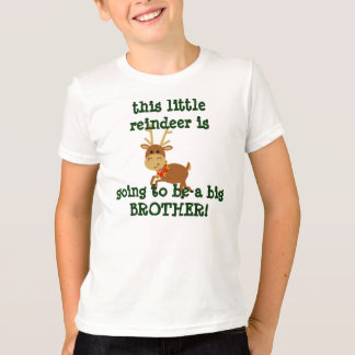 this little reindeer is going to be a big brother! T-Shirt