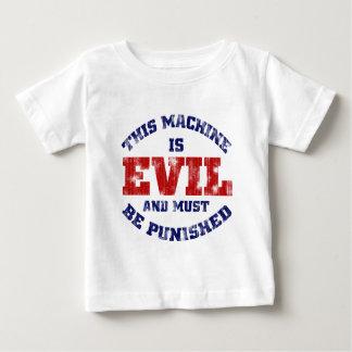 This Machine is Evil (worn look) Baby T-Shirt
