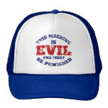 This Machine is Evil (worn look) Hats