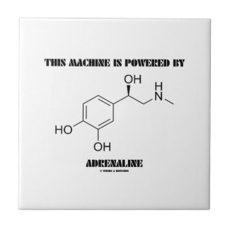 This Machine Is Powered By Adrenaline (Molecule) Tile