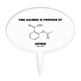 This Machine Is Powered By Aspirin (Molecule) Cake Pick
