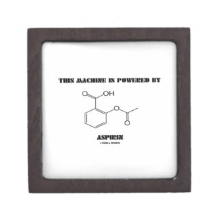 This Machine Is Powered By Aspirin (Molecule) Gift Box