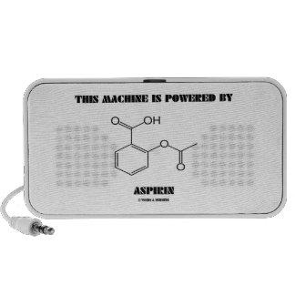 This Machine Is Powered By Aspirin (Molecule) Travel Speaker
