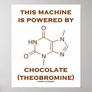 This Machine Is Powered By Chocolate (Theobromine) Print