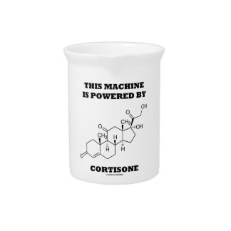This Machine Is Powered By Cortisone Chemistry Pitcher