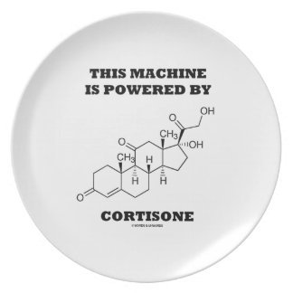 This Machine Is Powered By Cortisone Chemistry Plate