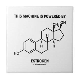 This Machine Is Powered By Estrogen (Molecule) Tile