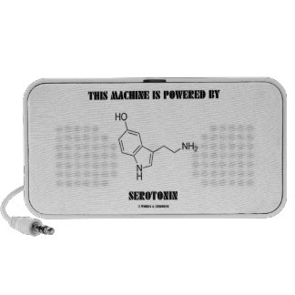 This Machine Is Powered By Serotonin (Chemistry) Portable Speakers