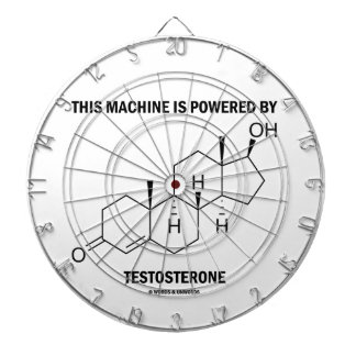This Machine Is Powered By Testosterone (Molecule) Dartboards