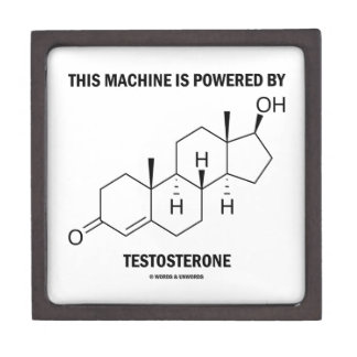 This Machine Is Powered By Testosterone (Molecule) Gift Box