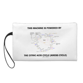 This Machine Is Powered By The Citric Acid Cycle Wristlet