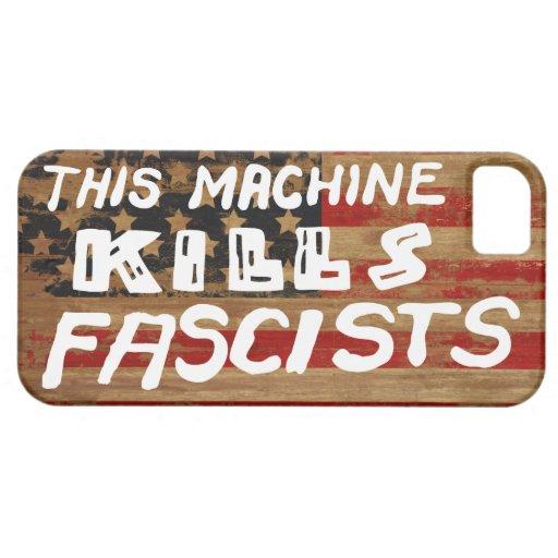 This Machine Kills Fascists iPhone Cases iPhone 5 Cover