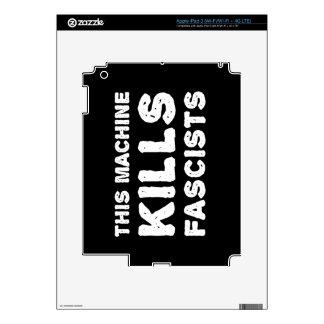 This Machine Kills Fascists Skin For iPad 3