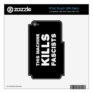 This Machine Kills Fascists Skin For iPod Touch 4G