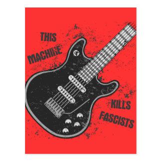 This Machine Postcard