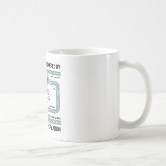 This Machine Powered By Oxidative Phosphorylation Classic White Coffee Mug