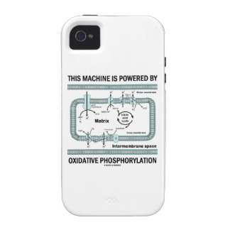This Machine Powered By Oxidative Phosphorylation iPhone 4/4S Cases