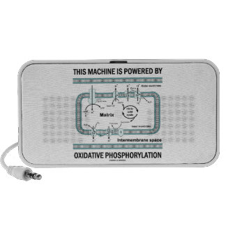 This Machine Powered By Oxidative Phosphorylation Mini Speaker