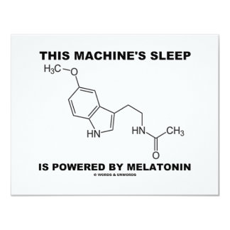 This Machine's Sleep Is Powered By Melatonin Personalized Announcement